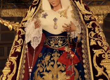 Esta sábado, sale la Virgen de las Maravillas
