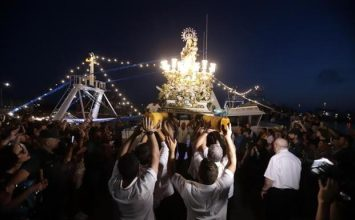 La Virgen del Carmen salió en procesión