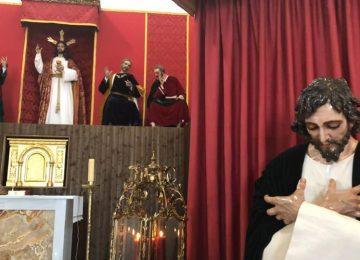 MOTRIL. Nuevo apóstol para la Santa Cena