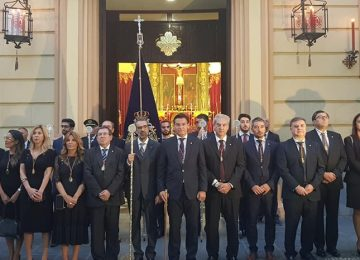 Granada renovó el Voto al Cristo de San Agustín