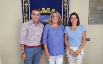 ALMUÑÉCAR. Reunión de la Agrupación de Cofradías con el Ayuntamiento