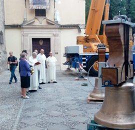 Regresan las campanas a Santo Domingo