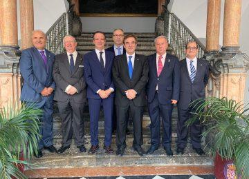 Granada en el Encuentro de Presidentes de Agrupaciones de Cofradías