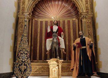MOTRIL. La Borriquita en su nueva capilla