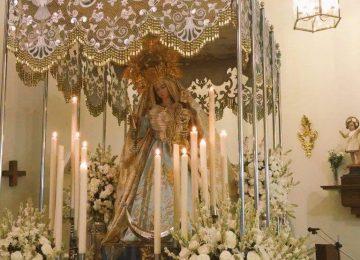 La Patrona de Ambroz hoy en procesión en la capital