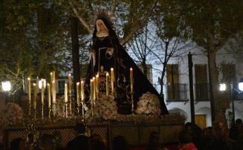 FUENTE VAQUEROS. Restauración de la Virgen de los Dolores