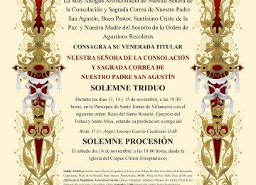 Cultos en Sto. Tomás de Villanueva