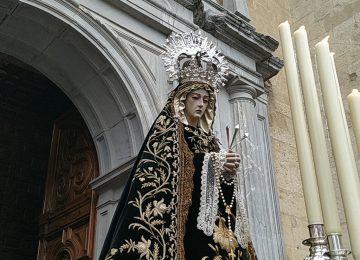 La Soledad saldrá a las puertas de San Jerónimo