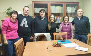 Reunión con la Fundación Amaranta