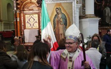 Celebración de la Virgen de Guadalupe
