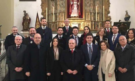 Mayordomos sacramentales en Favores