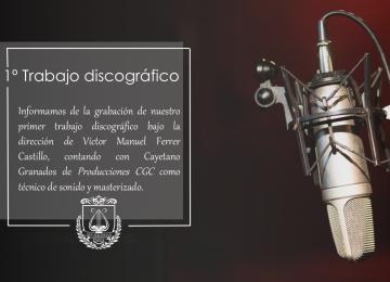 PADUL. Disco de la Banda de San Sebastián