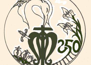 Logotipo para el 250 aniversario de Amor y Trabajo