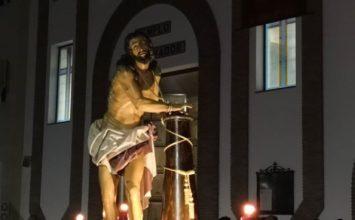 ALMUÑÉCAR. El Cristo 'Gitano' pisó las calles