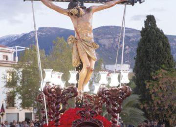ÓRGIVA. Cartel del Cristo de la Expiración