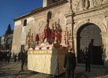 San Cecilio salió en procesión