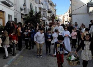 LANJARÓN. Recuperada la procesión de la Candelaria