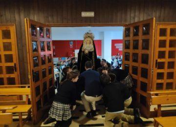 Dolorosa para el colegio Sagrada Familia