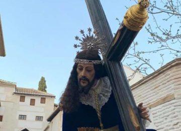 Jesús de las Tres Caídas bajó del Albaicín