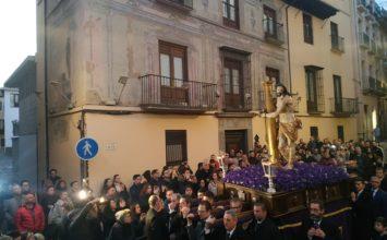 Jesús de la Paciencia presidió el viacrucis de las cofradías