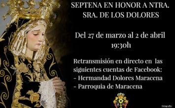 MARECENA. Septena a la Virgen de los Dolores