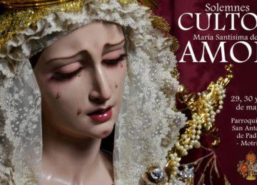 MOTRIL. Cultos de la Santa Cena