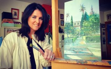 MOTRIL. Nuria Barrera pintará el cartel de la próxima Semana Santa