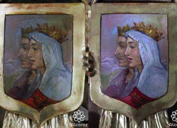 Restaurada la cartela frontal del paso del Vía Crucis