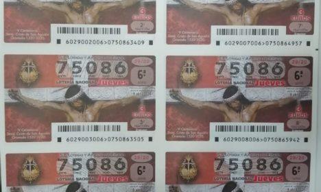 Hoy el Cristo de San Agustín protagonista de la Lotería