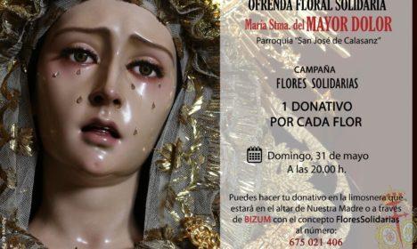 Ofrenda floral a María Santísima del Mayor Dolor