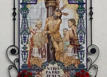 Azulejo del Perdón en San Gregorio