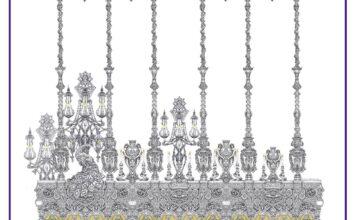 El granadino Álvaro Abril diseña un palio completo para Sevilla