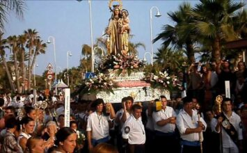 ALMUÑÉCAR. Cultos a la Virgen del Carmen
