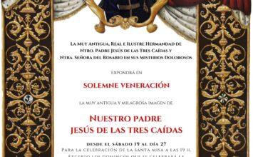 Veneración a Jesús de las Tres Caídas