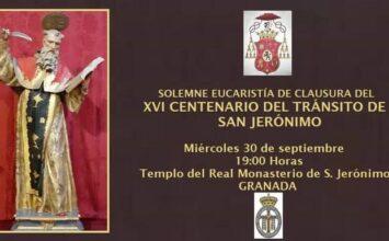 Clausura del centenario de San Jerónimo
