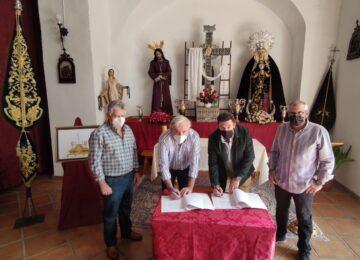 LOJA. Firmado el contrato del nuevo trono de Jesús Preso