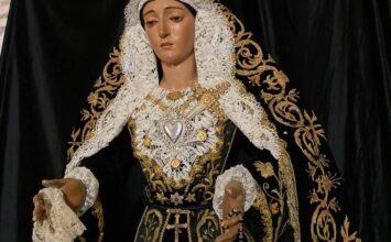 LUTO. Virgen de los Dolores, Almuñécar