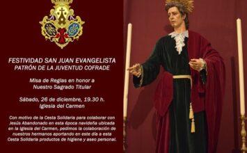 MOTRIL. Hoy, festividad de San Juan Evangelista
