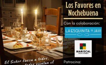 Cenas solidarias en Los Favores