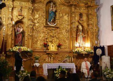 PELIGROS. Comienzan los cultos a San Ildefonso