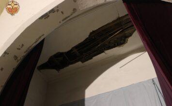 Los terremotos afectan a la sede de la cofradía de La Estrella