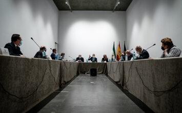 Así ha sido la reunión de lo presidentes de consejos de cofradías con la Junta