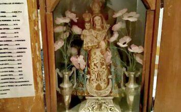 MONTEFRÍO. Vecinas a las búsqueda de una Virgen perdida