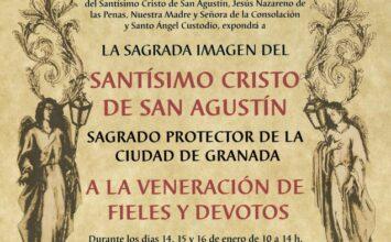 Veneración al Cristo de San Agustín durante tres días