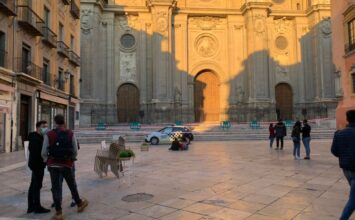 La Catedral dañada por el terremoto