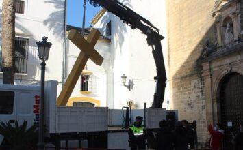 ALHENDÍN. El pueblo pide la cruz destruida en un Aguilar de la Frontera