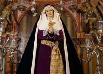 MARACENA. La Virgen de los Dolores de hebrea