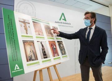 La Junta invertirá 137.000 euros en restaurar obras de arte de los templos granadinos