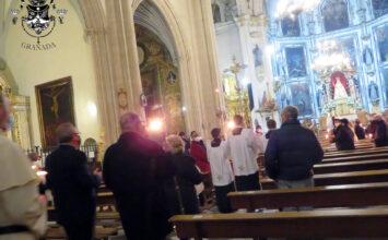 La Archicofradía del Rosario celebró 'la Candelaria'