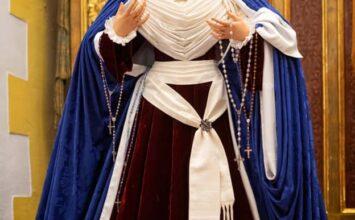 MOTRIL. Así viste de hebrea Ntra. Señora del Rosario